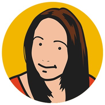 Cartoon image of Sophie, Creative Development Director at Concorde BGW Group