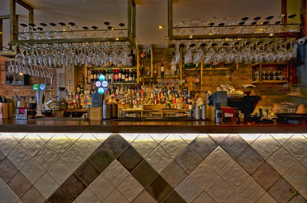 Bar at The Refinery