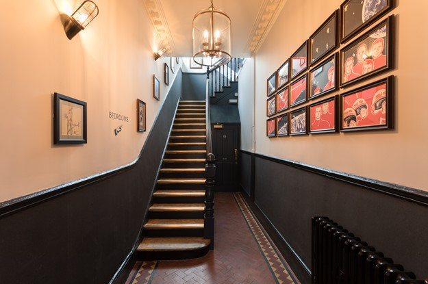 Staircase at The Half Moon