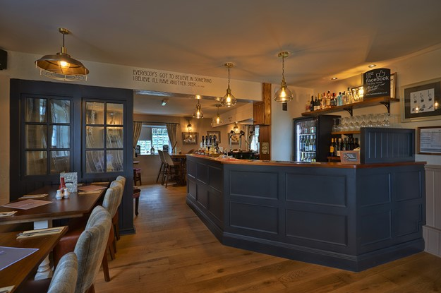 Bar at The Bay Horse