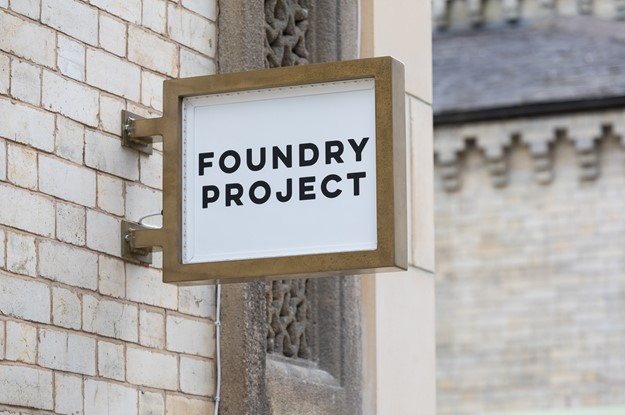 The Foundry - Foundry sign