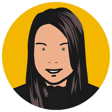 Cartoon Image of Lisa, Accounts Assistant at Concorde BGW