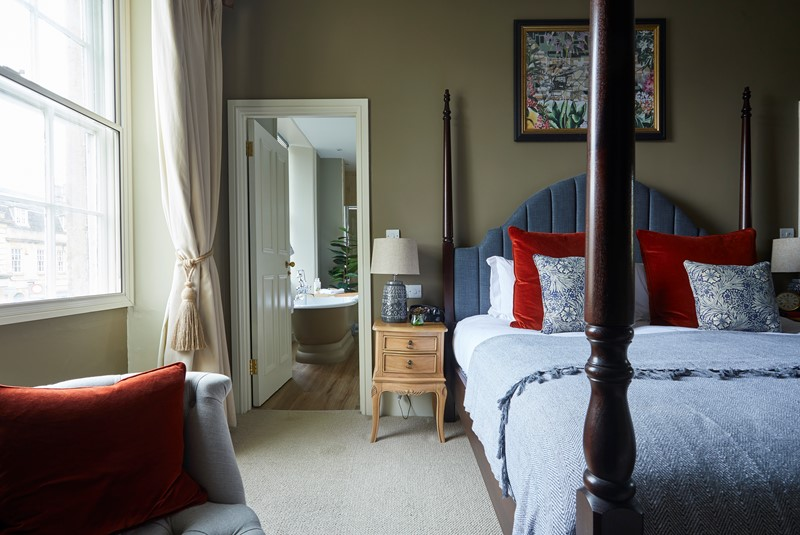 Bedroom at The Methuen Arms