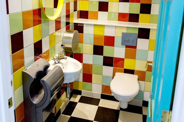 Bathroom at Moneypenny HQ