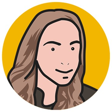Cartoon Image of Rae, Project Coordinator at Concorde BGW