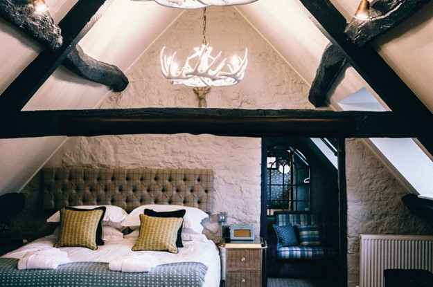 Bedroom at The Stag at Stow