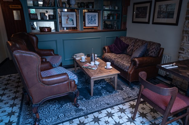 The Carpenters Arms - downstairs sofas and coffee table